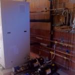 sala macchine tnbt con sistema gas caldo e sotto raffreddamento